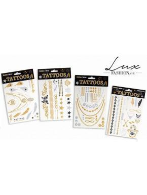 TATTOO DESIGNS WITH OTHER METALLIC COLORS
