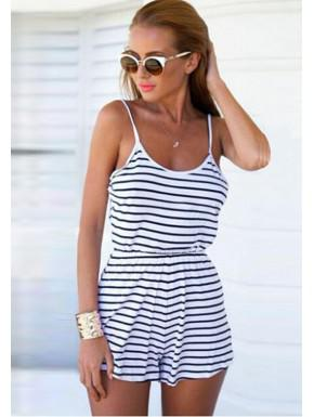 Overalls Striped Form